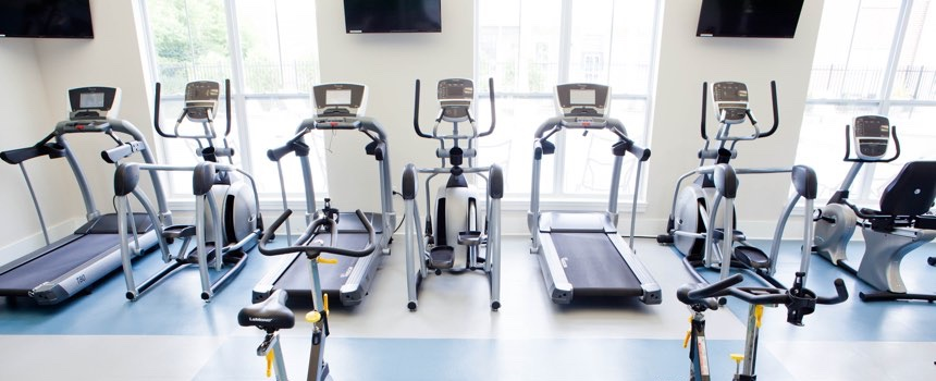 Highpointe on Meridian Apartments in Carmel fitness center