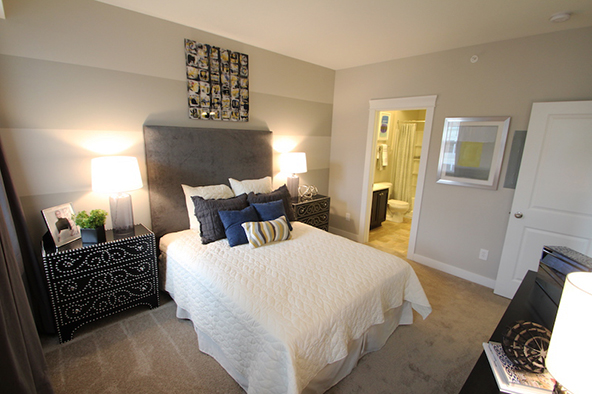 Master Bedroom in Highpointe
